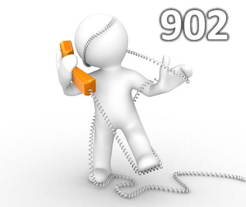 Llamar a un 902