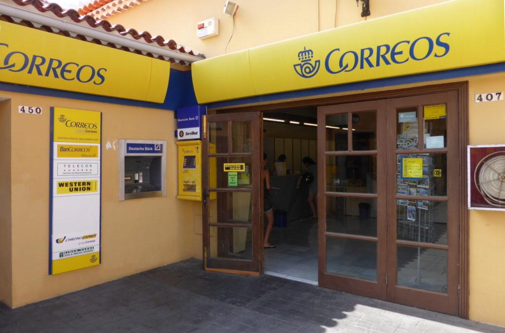 Una oficina de Correos