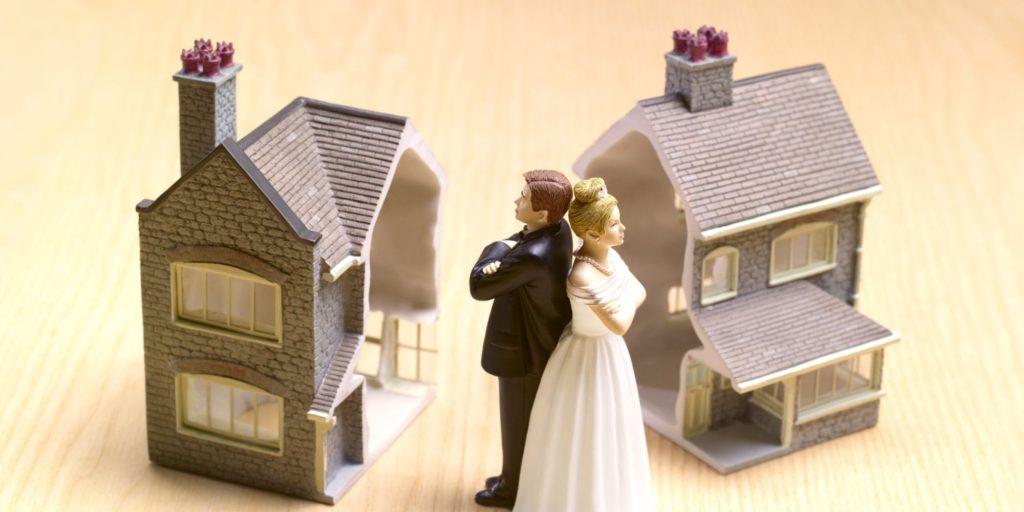 Separación de bienes con el divorcio