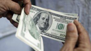 El símbolo del dólar $
