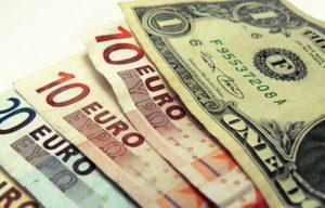 El valor de un dólar en euros