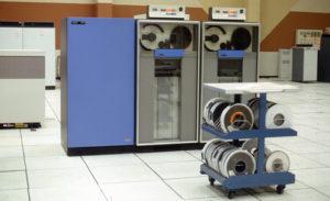 Orígenes de los dispositivos de almacenamiento con giga