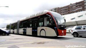 recorrido del autobús
