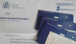 Tarjeta Sanitaria Europea TSE en el bolsillo