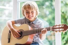 inicio de un guitarrista