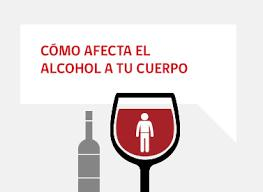 el alcohol en el cuerpo