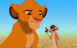 Simba recupera el trono de su padre