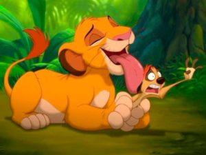 su espíritu sigue vivo ayudando a Simba