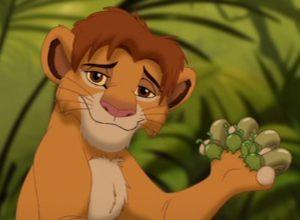 El nacimiento de Simba, le quita todas las posibilidades a Scar
