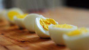 Los huevos cocidos son muy populares en Europa