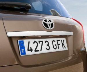 Indicaciones para que puedas matricular tu auto es España