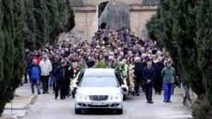 Coste del entierro