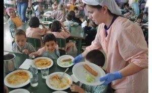 sueldo de un monitor de comedor escolar