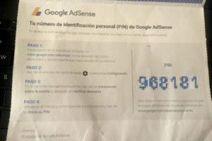 PIN de Google Adsense