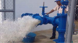Servicio de agua en España